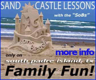 Sand Castle Lessons on South Padre